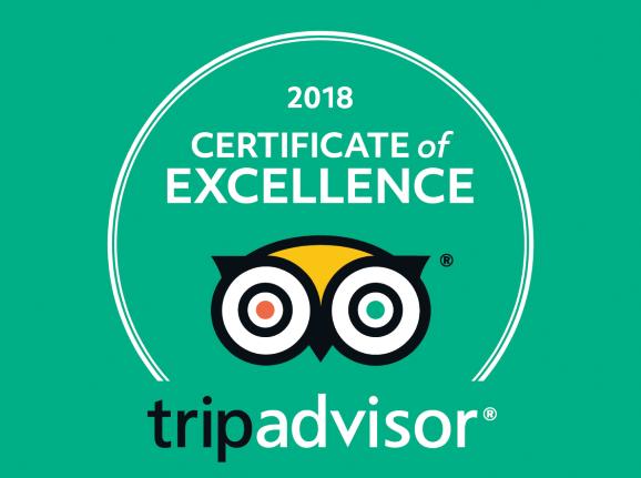 Porto Kale 2018 Tripadvisor award