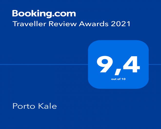 Porto Kale 2021 Booking award